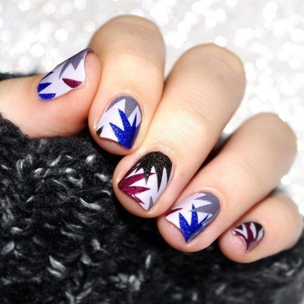 New-Years-Eve-Nail-Art-Design-Ideas-2017-27 89+ Astonishing New Year's Eve Nail Design Ideas for Winter 2020