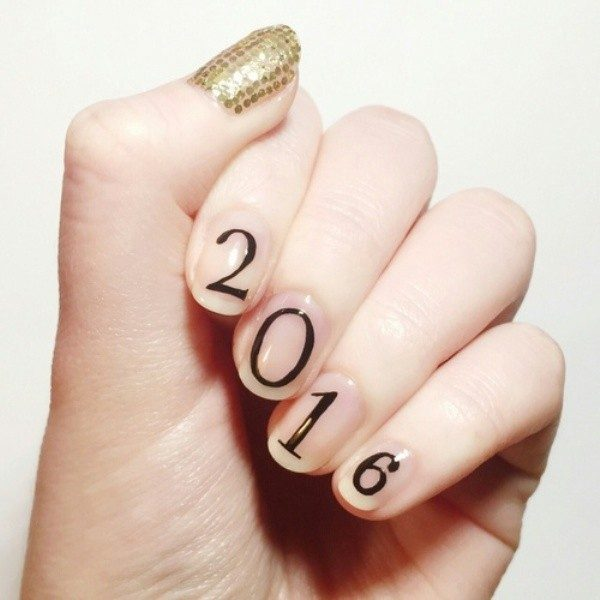 New-Years-Eve-Nail-Art-Design-Ideas-2017-43 89 Astonishing New Year's Eve Nail Art Design Ideas 2017