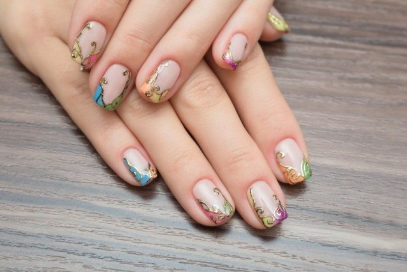 New-Years-Eve-Nail-Art-Design-Ideas-2017-45 89 Astonishing New Year's Eve Nail Art Design Ideas 2017
