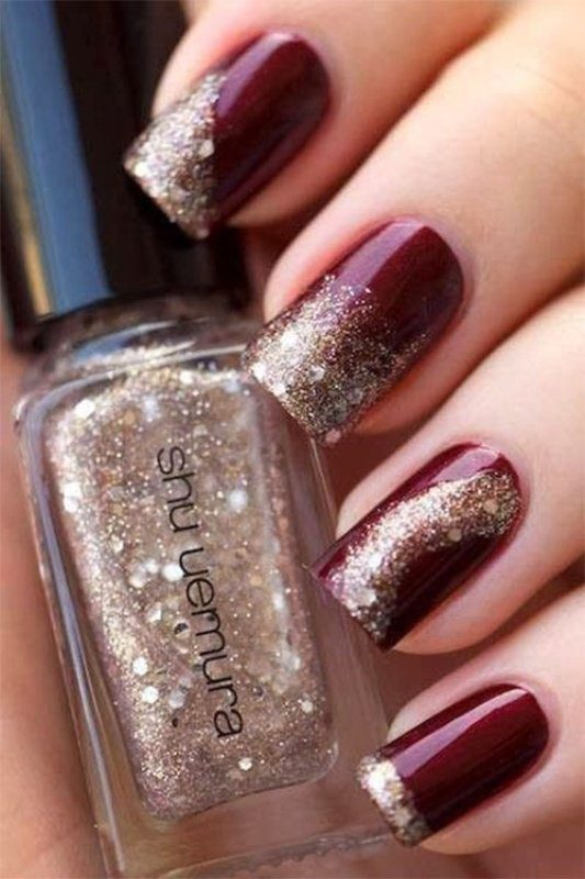 New-Years-Eve-Nail-Art-Design-Ideas-2017-5 89 Astonishing New Year's Eve Nail Design Ideas for Winter 2019