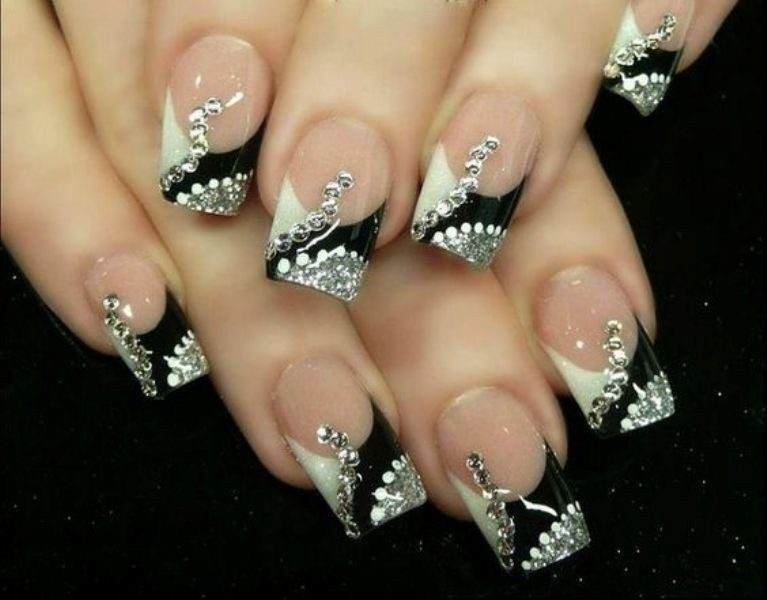New-Years-Eve-Nail-Art-Design-Ideas-2017-51 89 Astonishing New Year's Eve Nail Design Ideas for Winter 2019