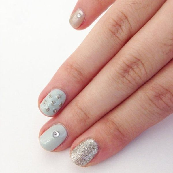 New-Years-Eve-Nail-Art-Design-Ideas-2017-56 89 Astonishing New Year's Eve Nail Design Ideas for Winter 2019