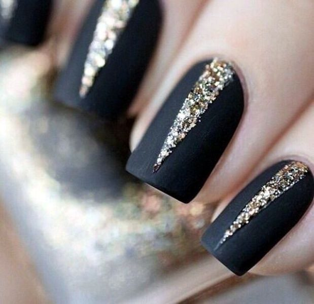New-Years-Eve-Nail-Art-Design-Ideas-2017-61 89 Astonishing New Year's Eve Nail Design Ideas for Winter 2019