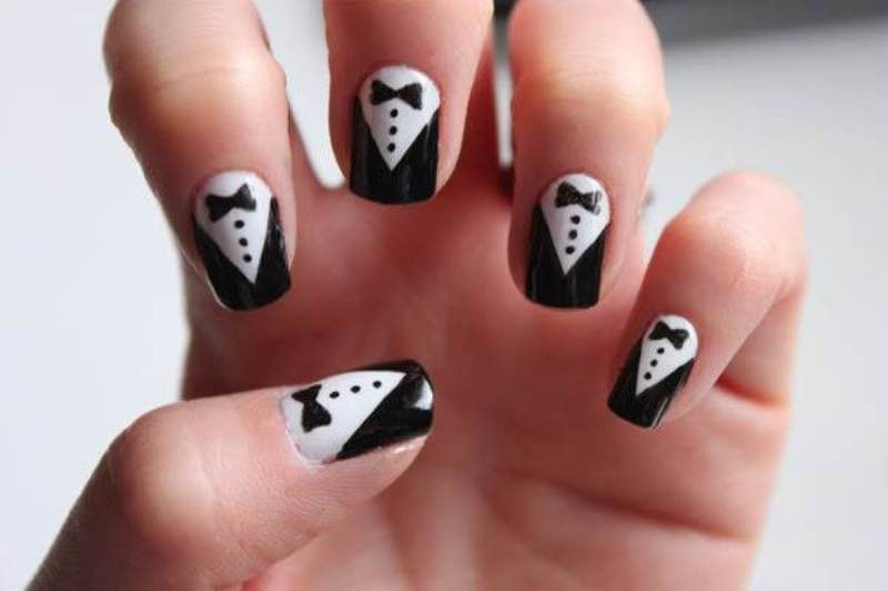 New-Years-Eve-Nail-Art-Design-Ideas-2017-62 89 Astonishing New Year's Eve Nail Design Ideas for Winter 2019