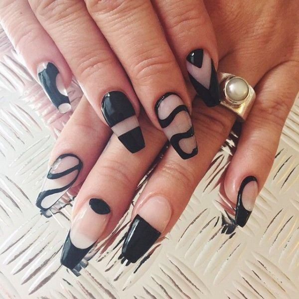 New-Years-Eve-Nail-Art-Design-Ideas-2017-67 89 Astonishing New Year's Eve Nail Design Ideas for Winter 2019