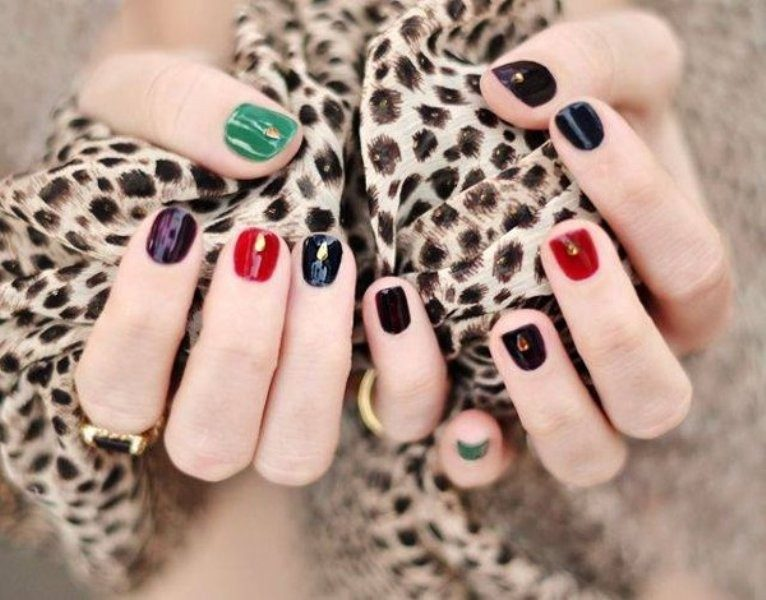 New-Years-Eve-Nail-Art-Design-Ideas-2017-69 89 Astonishing New Year's Eve Nail Design Ideas for Winter 2019