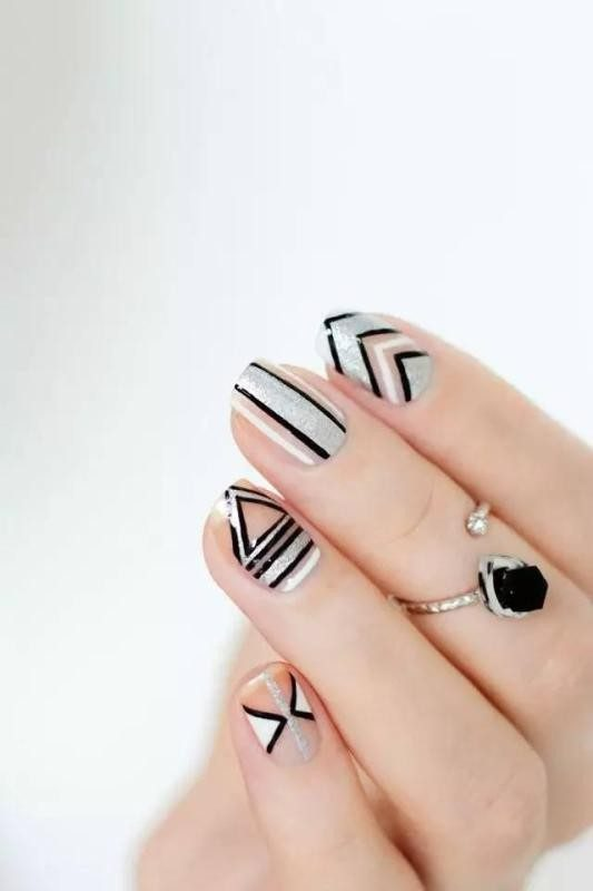 New-Years-Eve-Nail-Art-Design-Ideas-2017-7 89+ Astonishing New Year's Eve Nail Design Ideas for Winter 2020