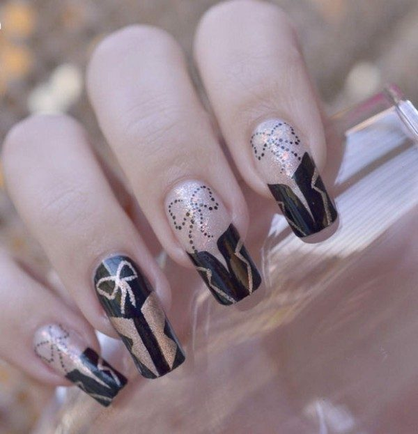 New-Years-Eve-Nail-Art-Design-Ideas-2017-72 89 Astonishing New Year's Eve Nail Design Ideas for Winter 2019