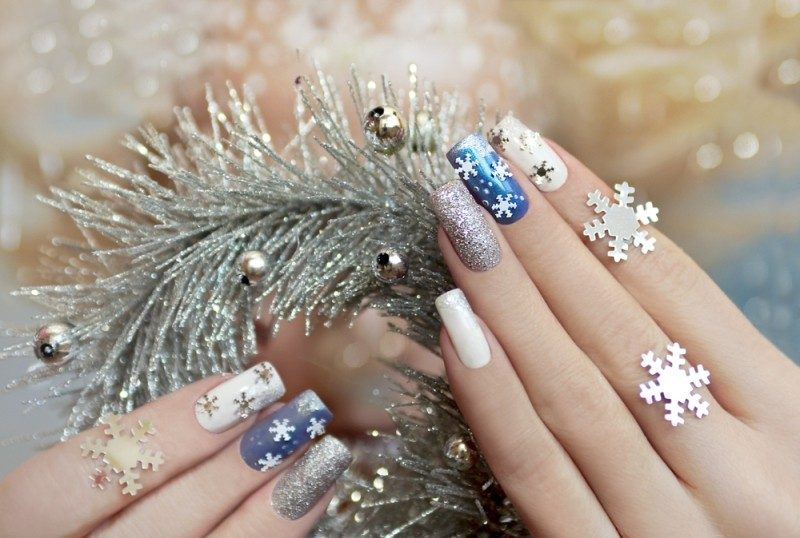 New-Years-Eve-Nail-Art-Design-Ideas-2017-73 89 Astonishing New Year's Eve Nail Design Ideas for Winter 2019