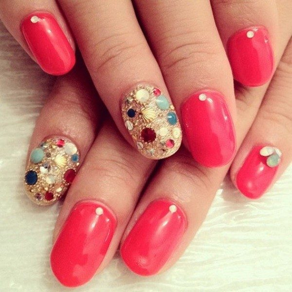 New-Years-Eve-Nail-Art-Design-Ideas-2017-82 89 Astonishing New Year's Eve Nail Design Ideas for Winter 2019