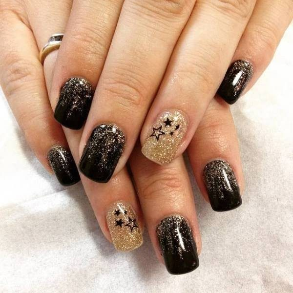 New-Years-Eve-Nail-Art-Design-Ideas-2017-84 89 Astonishing New Year's Eve Nail Design Ideas for Winter 2019