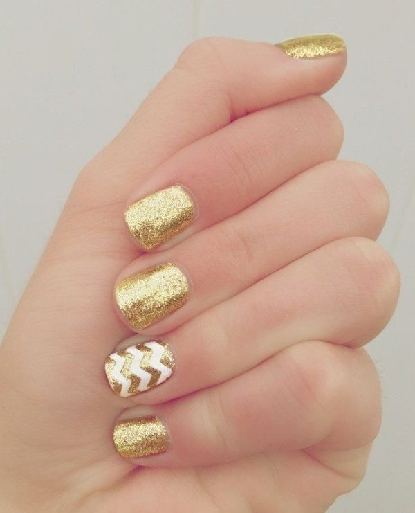 New-Years-Eve-Nail-Art-Design-Ideas-2017-9 89 Astonishing New Year's Eve Nail Design Ideas for Winter 2019