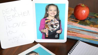 Personalized Gift Card in Teacher's days Appreciation Gift