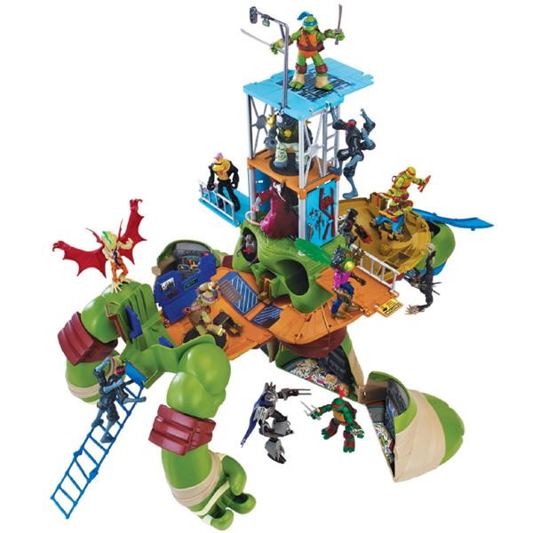 Turtles-Giant-Leo-Playset-1 20+ Must Have Christmas Toys for Children in 2020