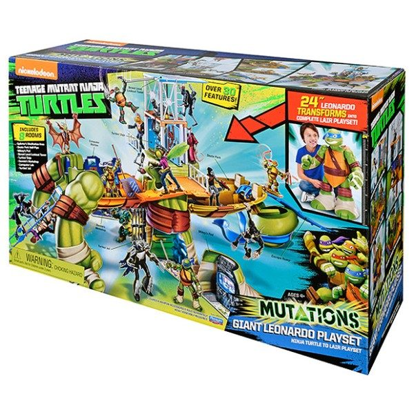 Turtles-Giant-Leo-Playset 20+ Must Have Christmas Toys for Children in 2020