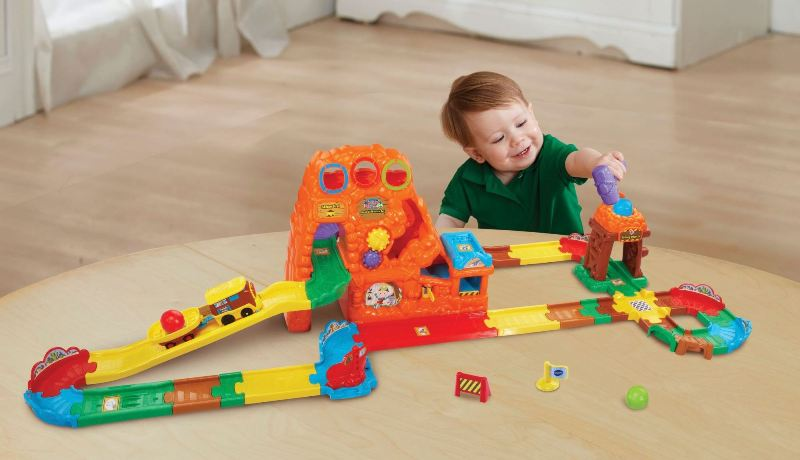 VTech-Toot-Toot-Drivers-Goldmine-Train-Set-1 20+ Must Have Christmas Toys for Children in 2020