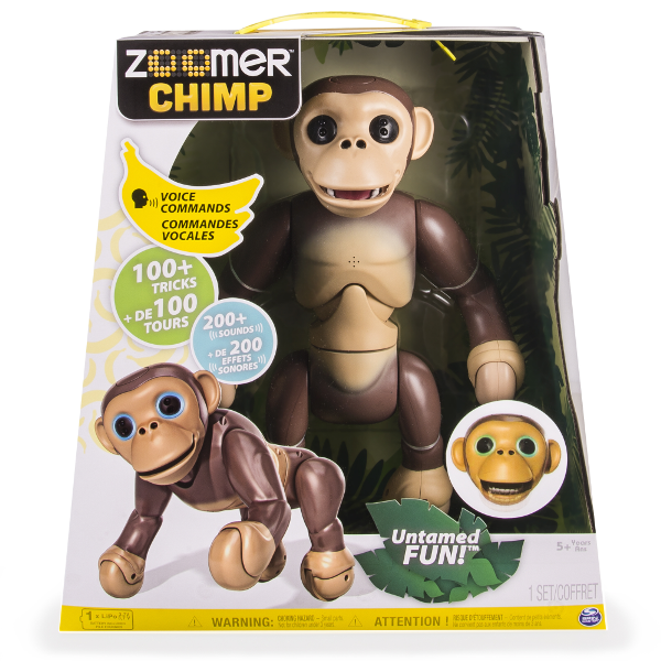 Zoomer-Chimp 20+ Must Have Christmas Toys for Children 20