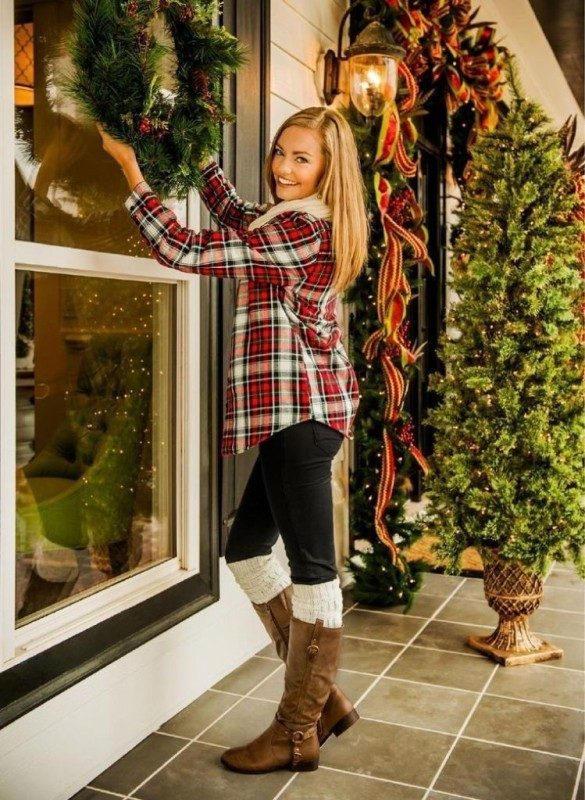 christmas-outfit-ideas-2017-35 66 Magnificent Christmas Outfit Ideas 2018/2019