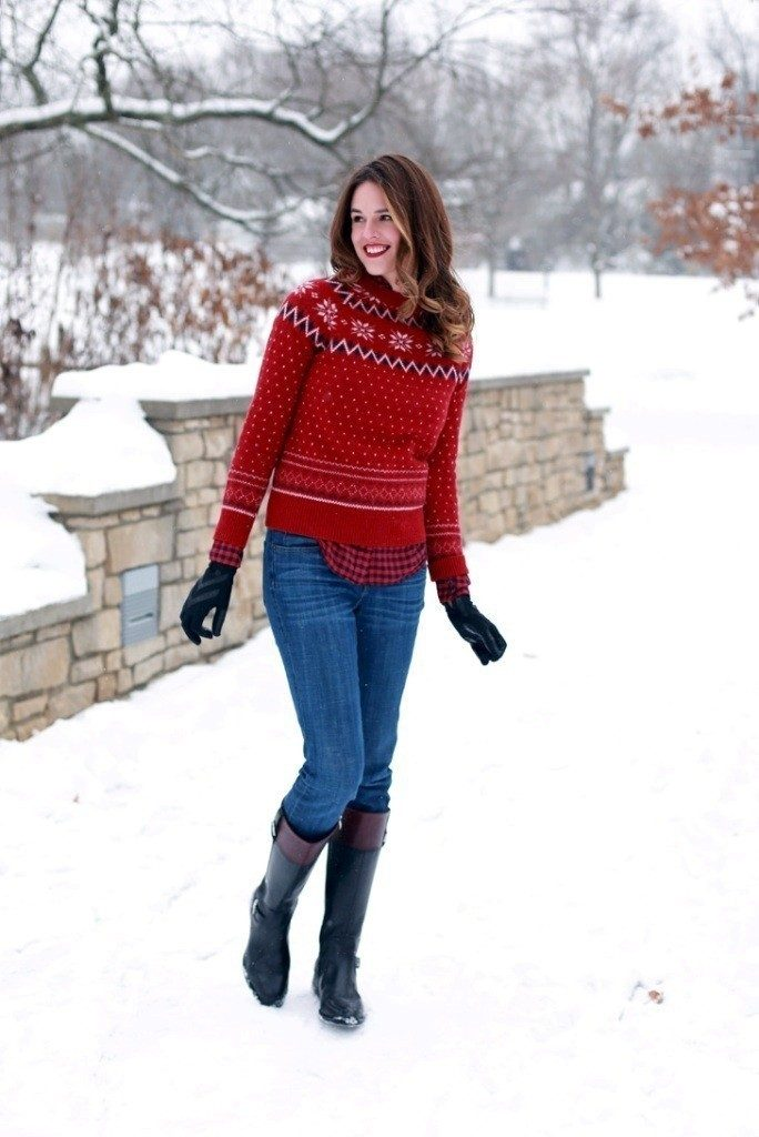 christmas-outfit-ideas-2017-40 66 Magnificent Christmas Outfit Ideas 2018/2019