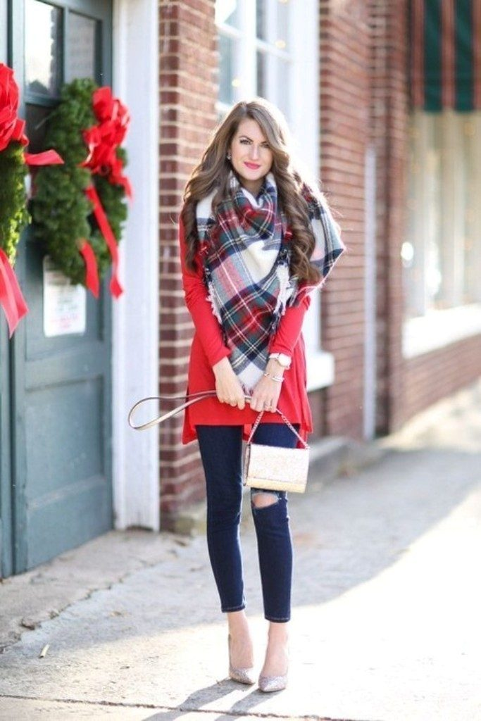 christmas-outfit-ideas-2017-46 66 Magnificent Christmas Outfit Ideas 2018/2019