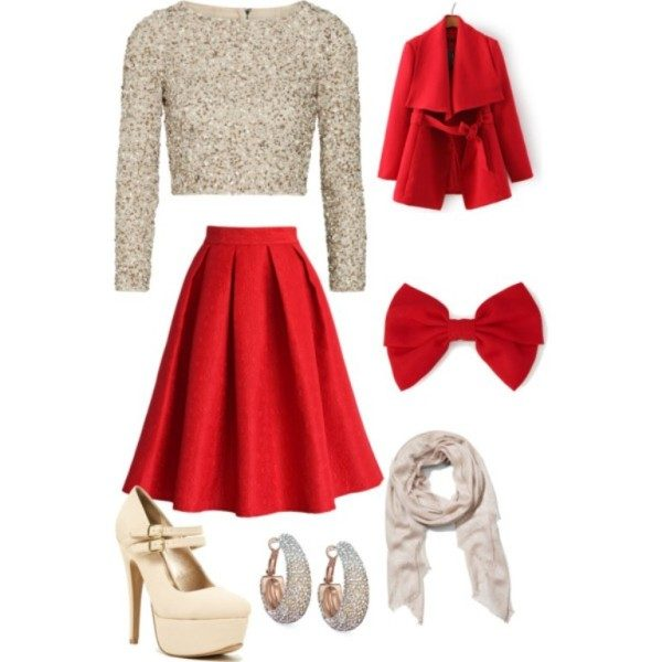christmas-outfit-ideas-2017-57 66 Magnificent Christmas Outfit Ideas in 2020