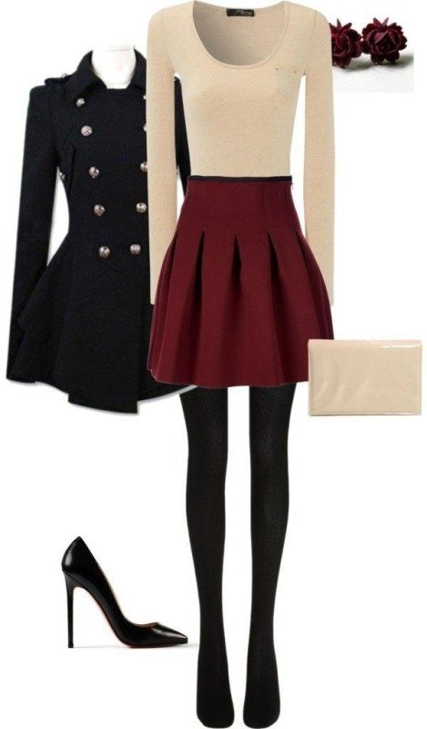 christmas-outfit-ideas-2017-60 66 Magnificent Christmas Outfit Ideas in 2020