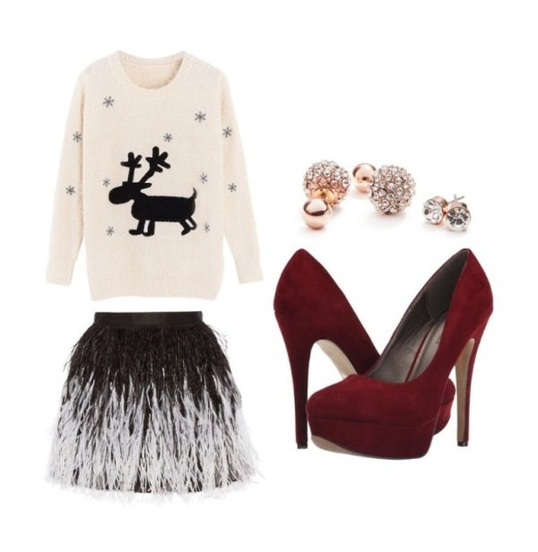 christmas-outfit-ideas-2017-66 66 Magnificent Christmas Outfit Ideas in 2020