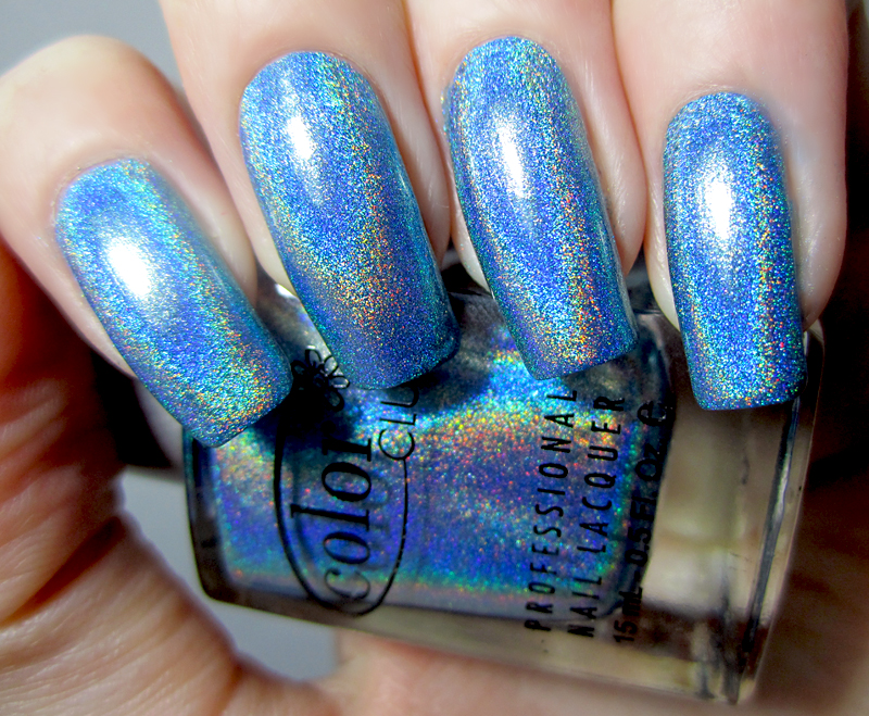color-club-over-the-moon-swatch 50+ Coolest Wedding Nail Design Ideas