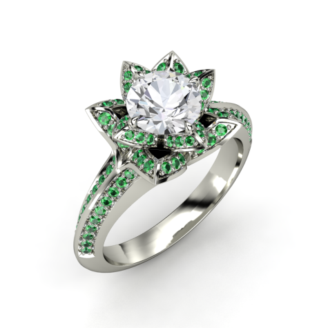 emerald6-475x475 How Do You Select Gemstones For Young Girls?