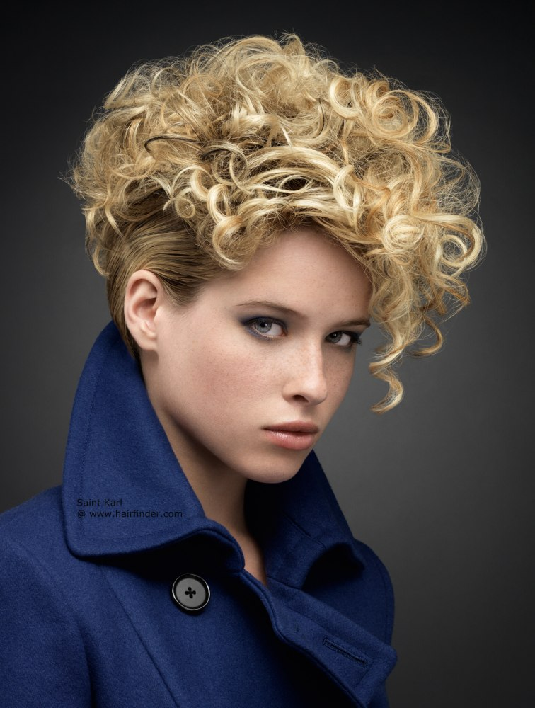 fashionable-short-hairstyle Sexiest Prom Hairstyles for Short Hairs