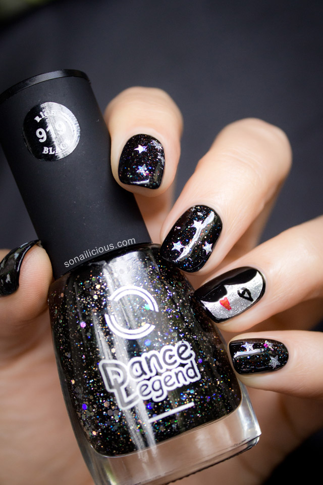 moon-face-nails 50+ Coolest Wedding Nail Design Ideas