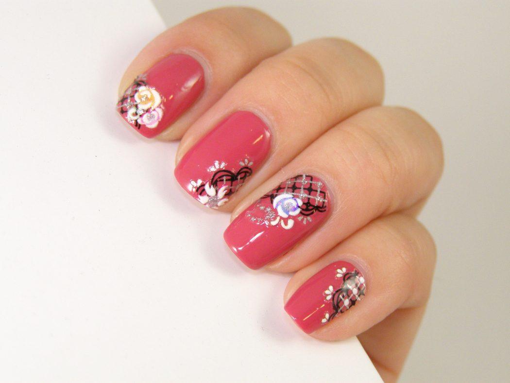 nail-stickers-designs 50+ Coolest Wedding Nail Design Ideas