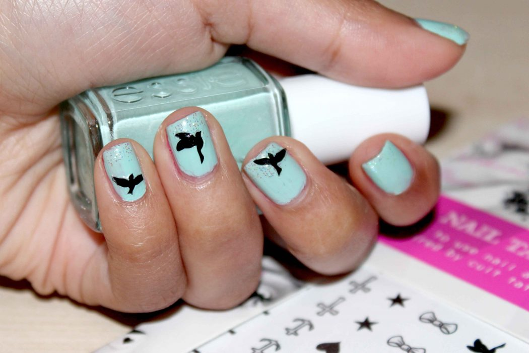 nail-tattoos-2 50+ Coolest Wedding Nail Design Ideas
