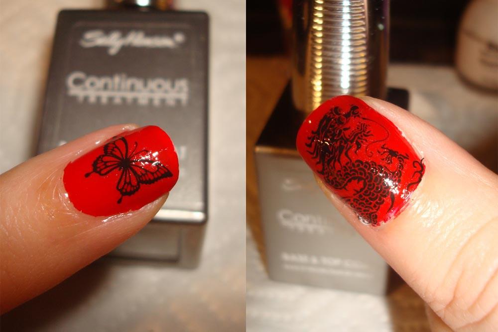 nailtattoostep5 50+ Coolest Wedding Nail Design Ideas