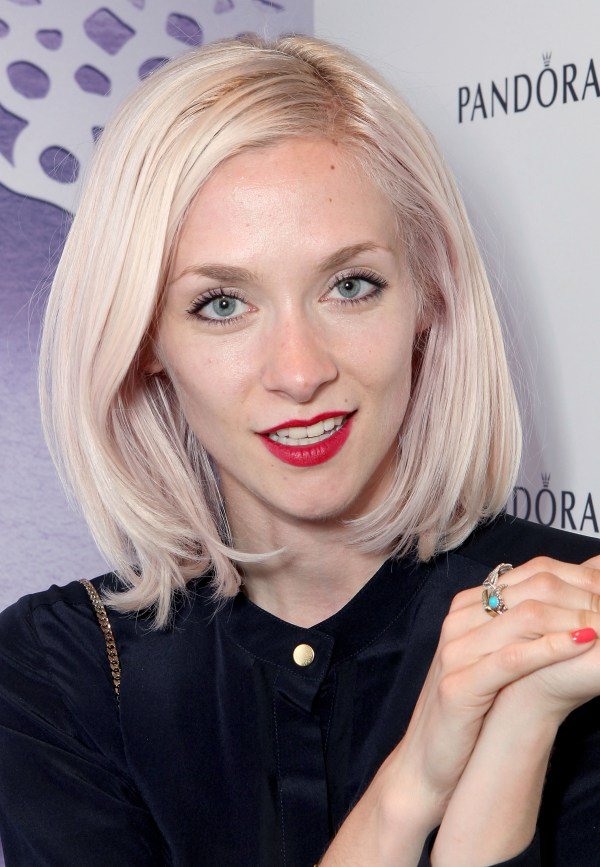 platinum-blonde 5 Coolest Hair Colors for Next summer