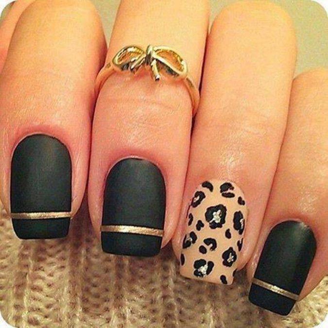 11111-675x675 6 Most Stylish Leopard and Cheetah Nail Designs