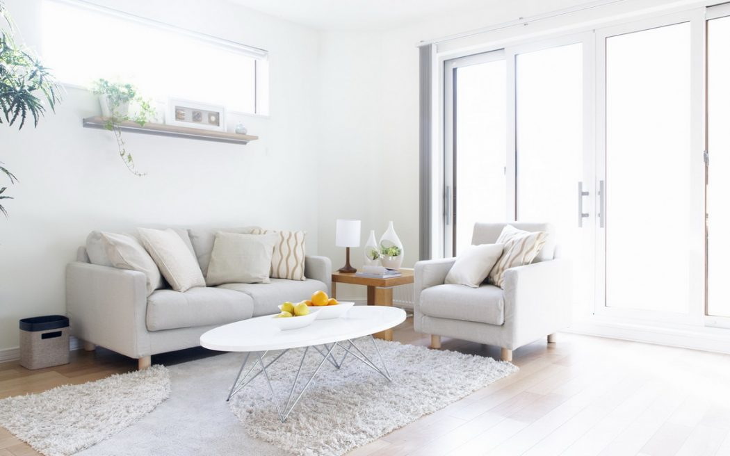 All-White-Furniture1-1 +20 Most Creative Designs For Living Rooms