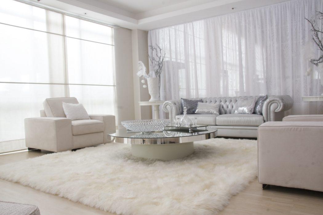 All-White-Furniture2 20+ Best Living Room Design Ideas in 2020