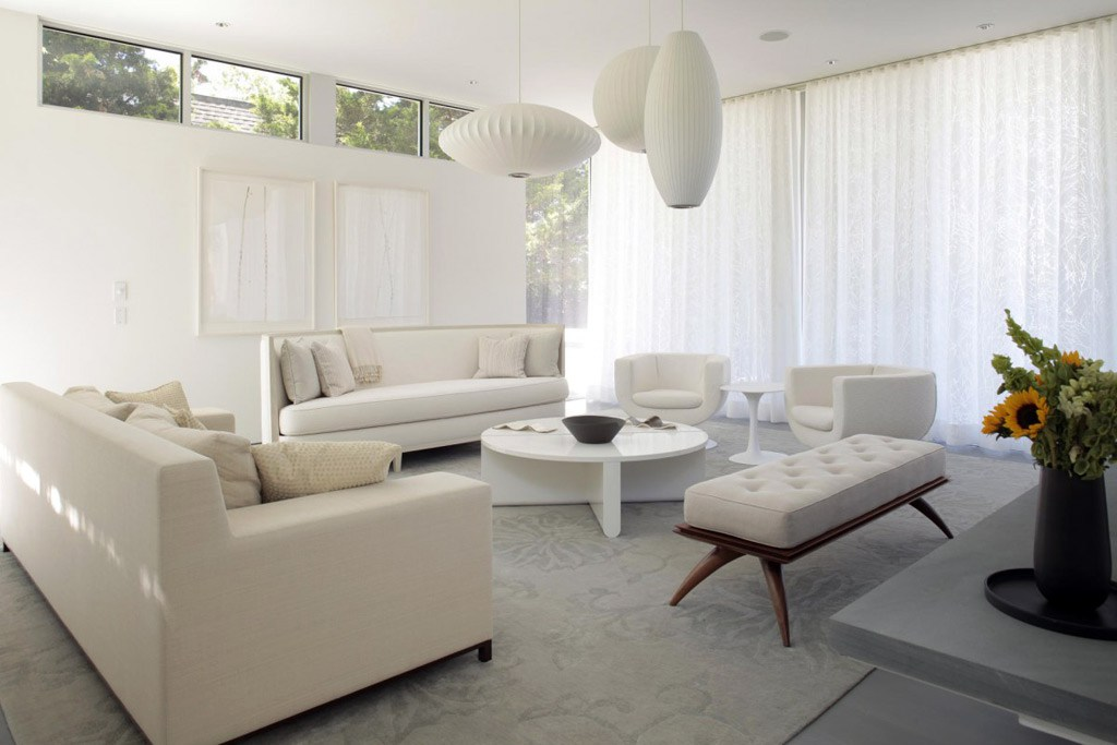 All-White-Furniture3 20+ Best Living Room Design Ideas in 2018