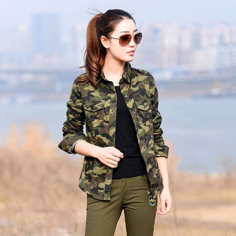 Camouflage1 Top 5 Elegant Military Clothing Trends of 2018