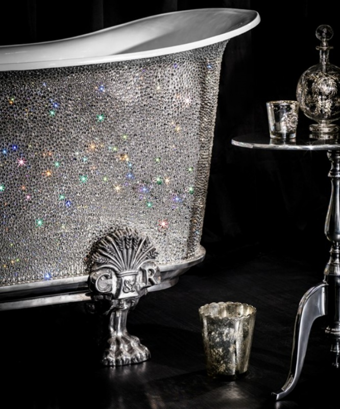 Catchpole-Rye-Crystal-Bateau-bathtub-1 69 Most Expensive Gemstones Bathtubs
