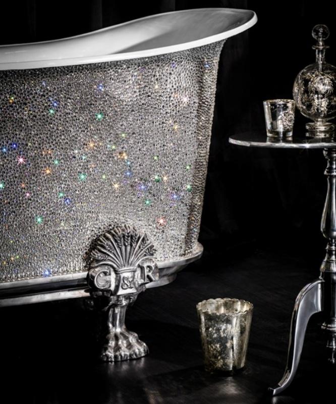 Catchpole-Rye-Crystal-Bateau-bathtub-1 69 Most Expensive Gemstones Bathtubs