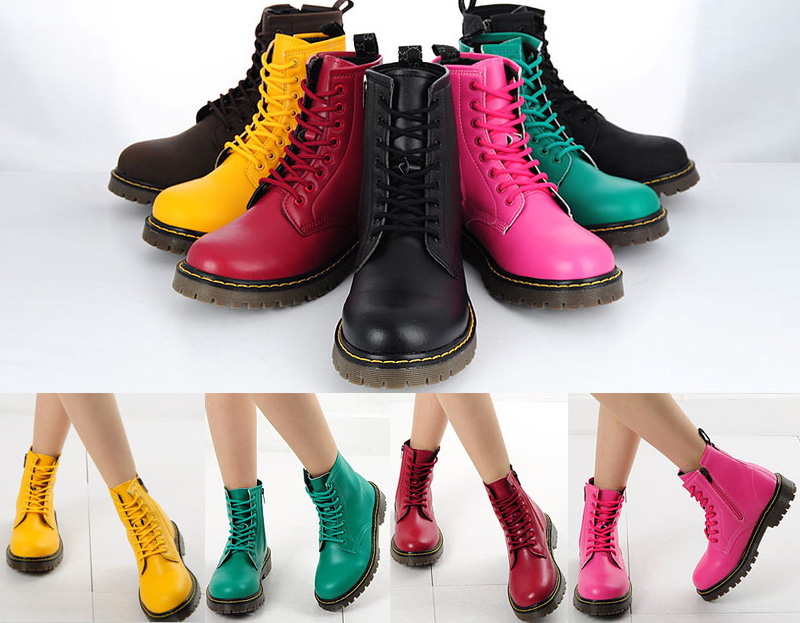 Colorful-Boots2 Top 10 Stylish Boot Trends in 2017