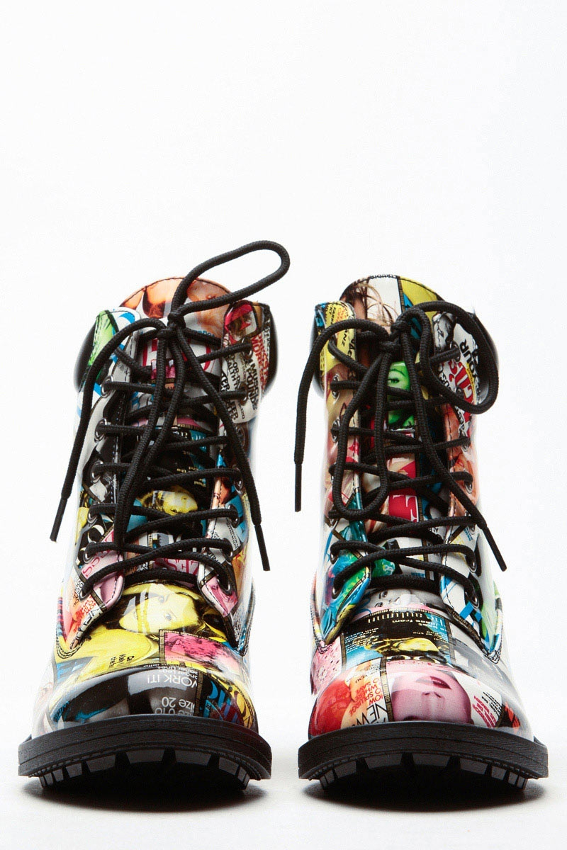 Colorful-Boots4 Top 10 Most Stylish Boot Trends