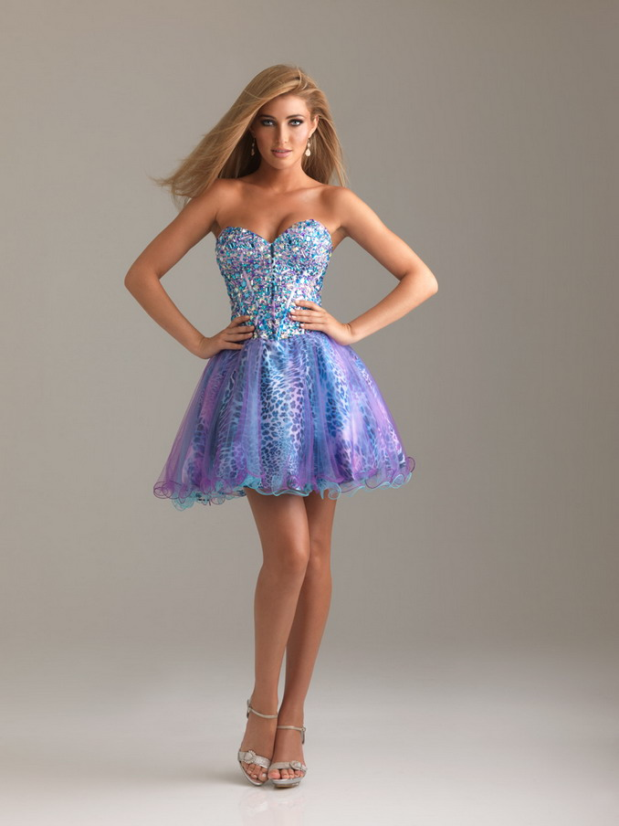 Colorful-Short-Prom-Dresses-kqplqldsckc 25+ Women Engagement Outfit Ideas Coming in 2018