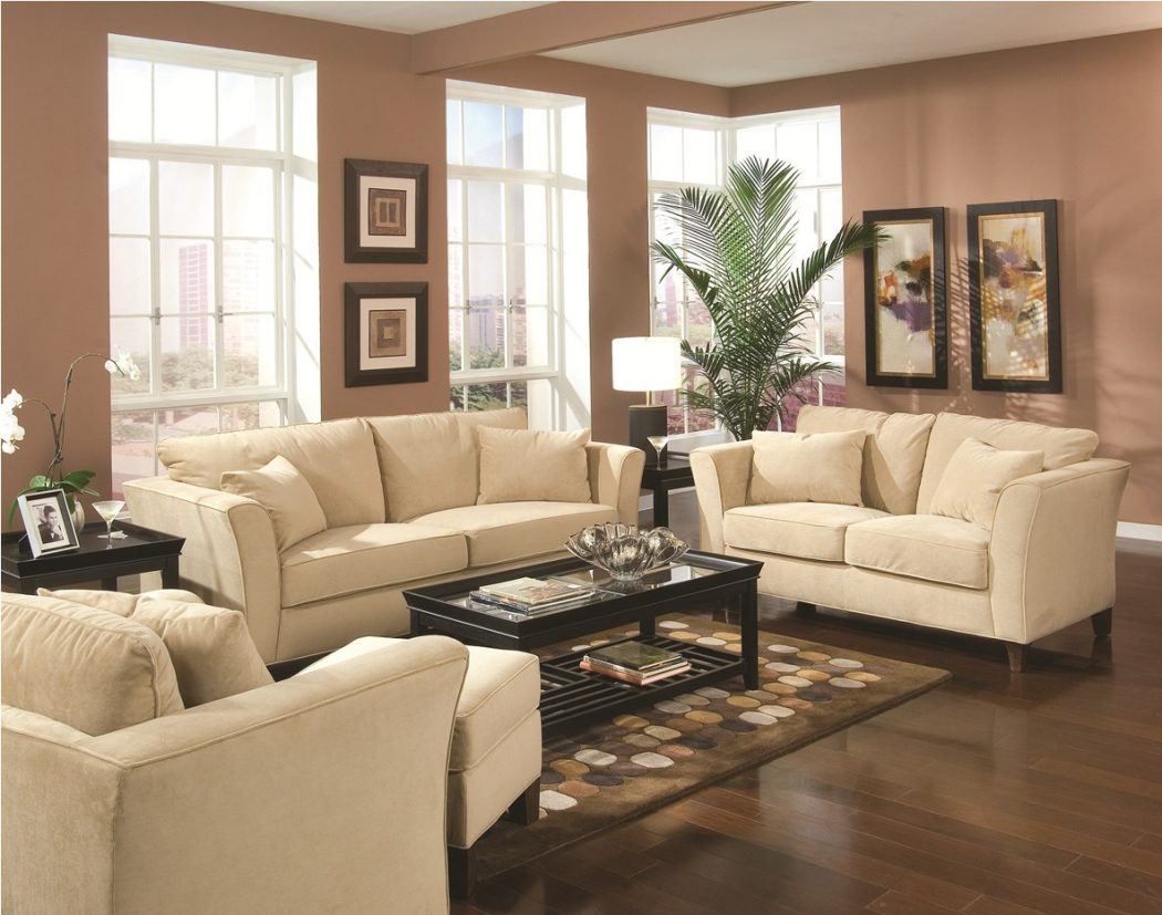 Creamy-and-Dark-Colors3-1 20+ Best Living Room Design Ideas in 2018