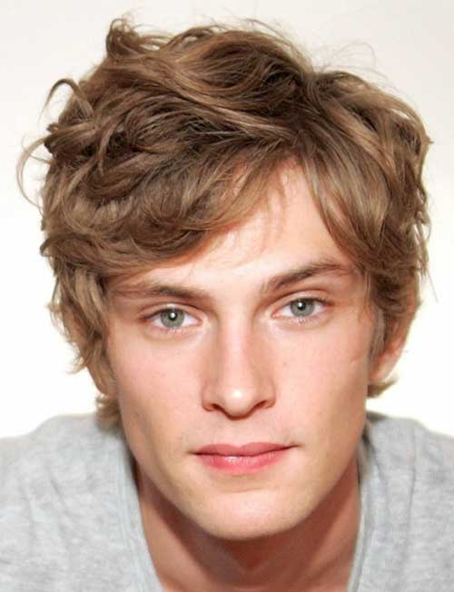 Curly-Messy-Hair-for-Men Best 20+ Hair Colors for Men in 2020