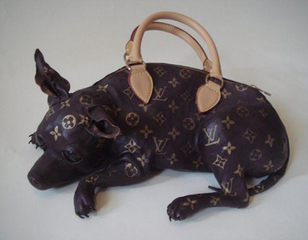 Doggie-Bag-Louis-Vuitton-1 Top 10 Unusual Handbags That Are in Fashion