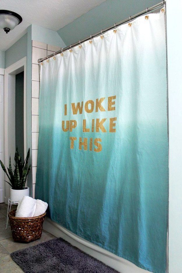 Favorite-Quotes-Curtain3 37+ Creative Curtains Design Ideas To DIY
