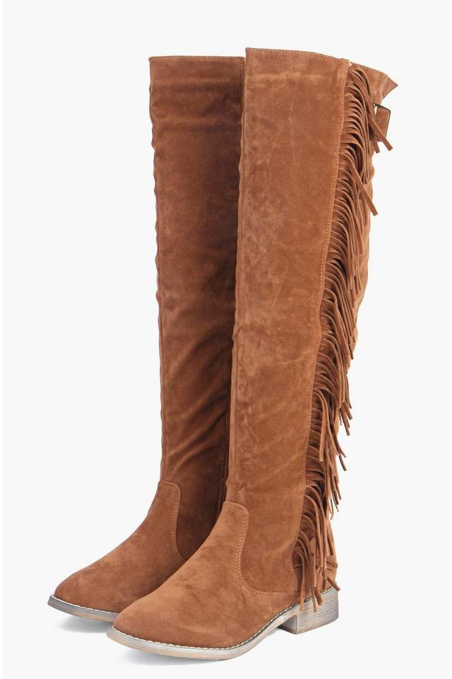 Fringing-Boots3 Top 10 Most Stylish Boot Trends